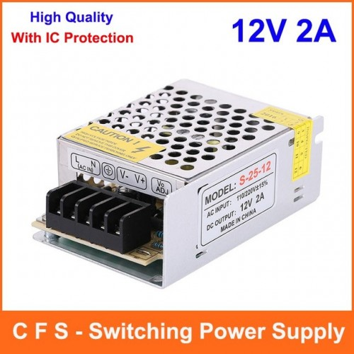 Power Supply 12V 2A Switching Power Supply AC to DC