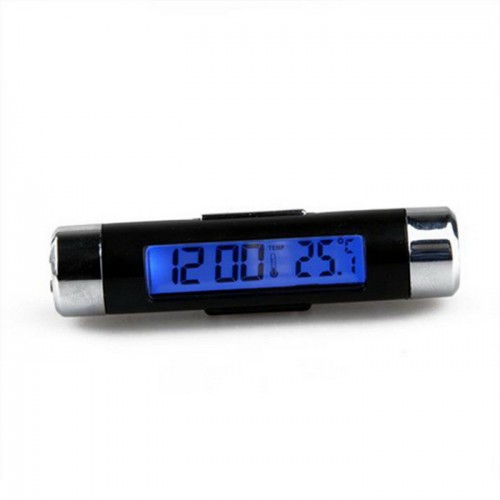 Car Automotive Thermometer Clock Calendar