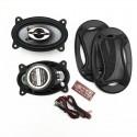 coaxial in car door 4 x 6 oval car speakers