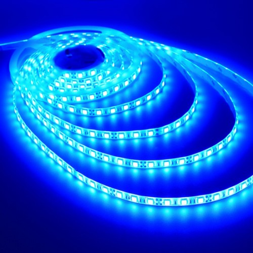 DC 12V Blue Color 5050 60PCS LED
