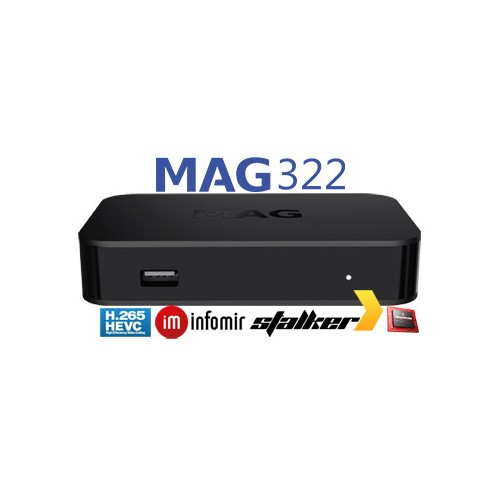 Infomir MAG322 IPTV SET-TOP BOX