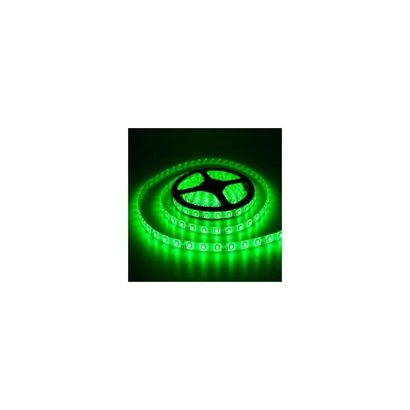 ΕΥΚΑΜΠΤΗ ΑΔΙΑΒΡΟΧΗ ΤΑΙΝΙΑ ΜΕ ΠΡΑΣΙΝΑ LED 12V 4,8W/m