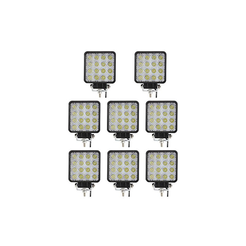 48W Square LED Work Light