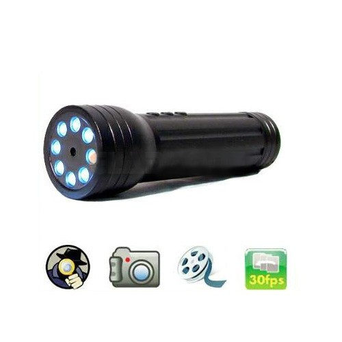 LED Flash Light Torch Spy Camera