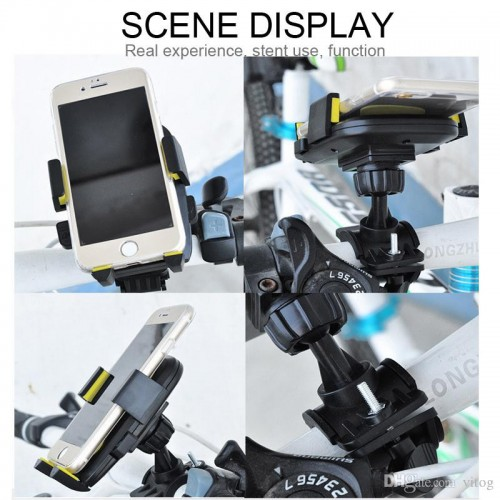 Mount bicycle motorcycle phone holder Universal 360 Rotation bike phone holder support cellular phone moto