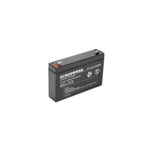 6V/7.2Ah small size battery for LED lights