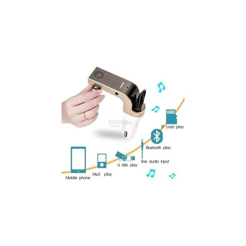 ΑΝΑΜΕΤΑΔΟΤΗΣ FM/MP3 ΜΕ KAI BLUETOOTH - USB