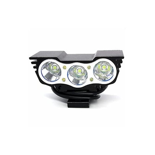 3 LED Owl Eyes 30W 6000K Motorcycle Fog Lamp Headlight