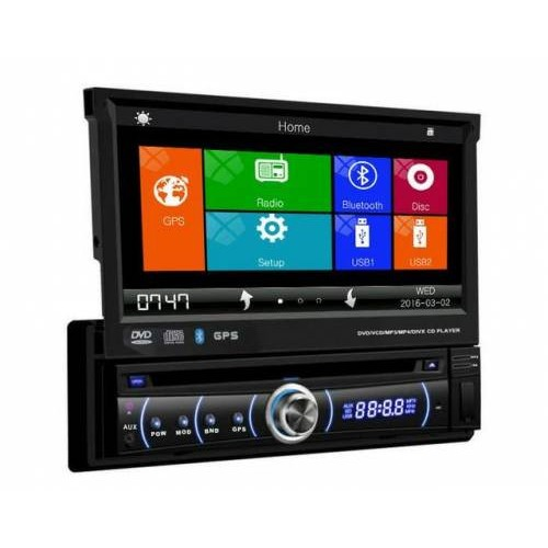 1 Din 7 inch Car DVD player with GPS