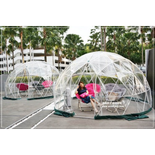 The Garden Igloo is a Pop-Up Geodesic Dome Perfect for Any Backyard