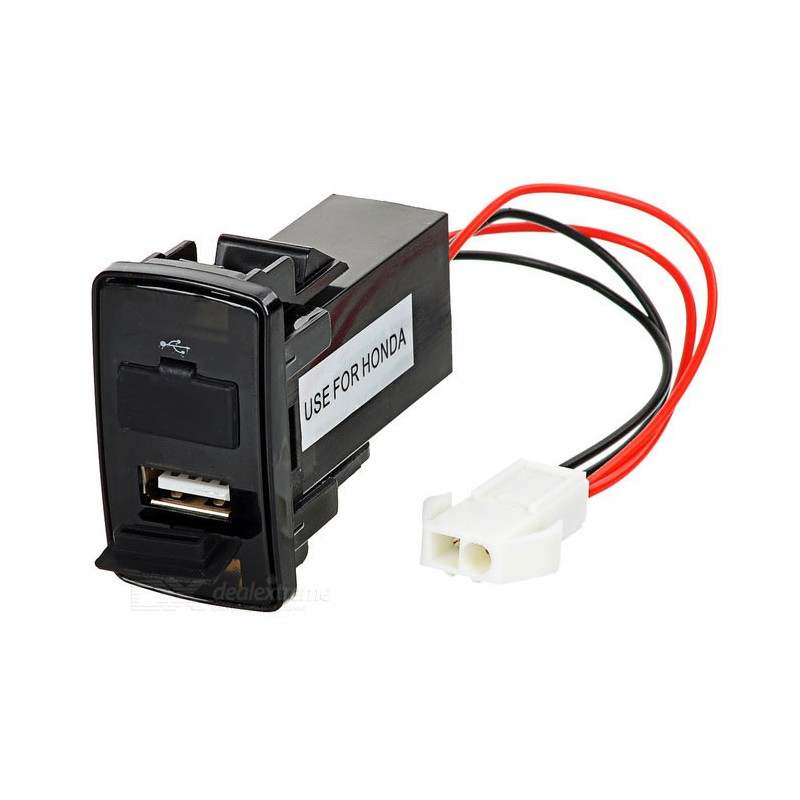 Dual USB 2.1A Car Power Charger for HONDA
