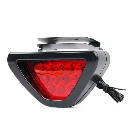 Red Led Brake Light With Flasher For Passion