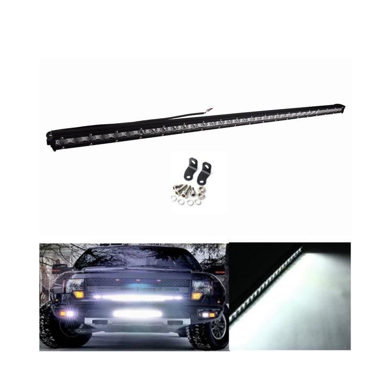 108W LED Work Light Bar 6000K Slim Cree LED Flood Spot Combo Beam Off Road For Truck ATV SUV
