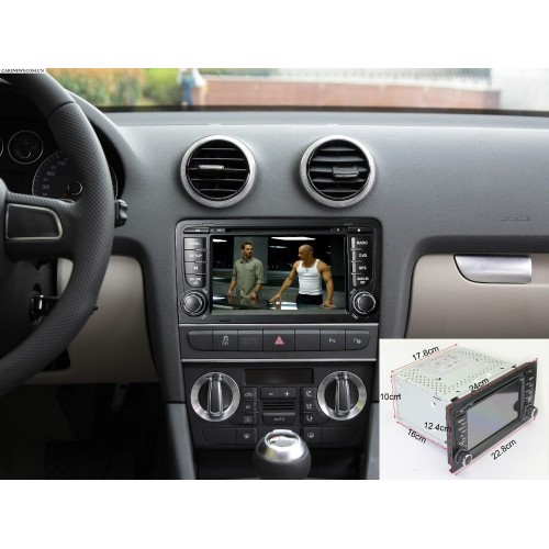 AUDI A3 - ANDROID GPS ΑΥΤΟΚΙΝΗΤΟΥ 2DIN MULTIMEDIA