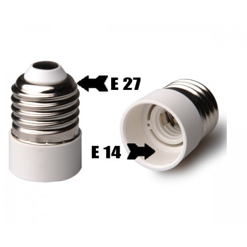 Bulb Base Adapter Socket Converter Socket E14 To E27