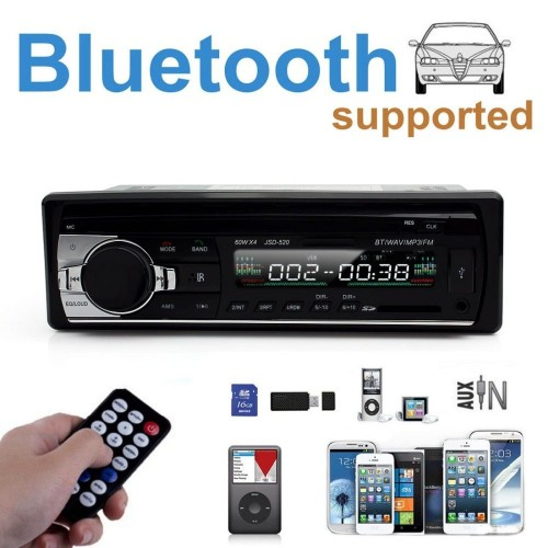 STEREO AUTORADIO AUTO BLUETOOTH FM MP3 USB SD AUX 6249