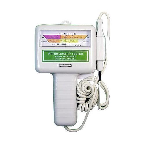 Electronic Swimming Pool Spa Water PH CL2 Chlorine Tester PC-101