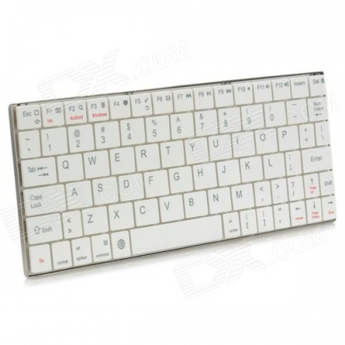 HB-2000 80-Key Mini Ultra-thin Bluetooth V3.0 Keyboard for Android