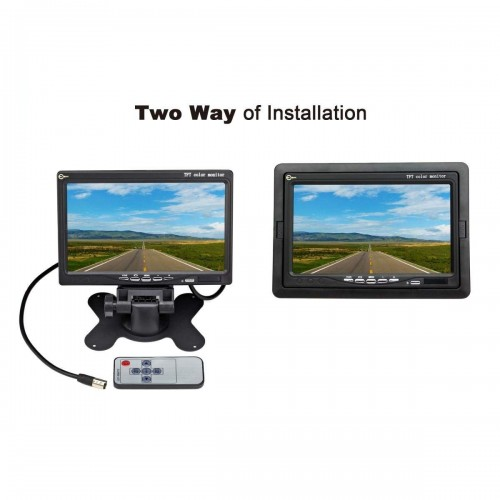 LCD Car Vehicle Reverse Rear View Screen Security Color Mount Monitor