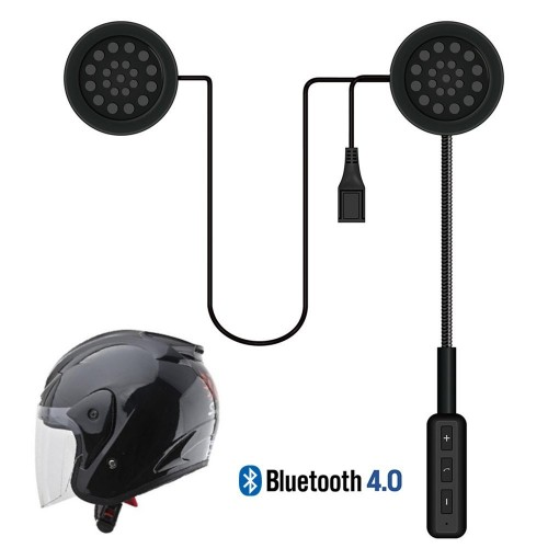 LeaningTech Wireless Motorcycle Helmet Headset Bluetooth Headset, Helmet Headphones, Hands-Free Speakers, Music Call Control