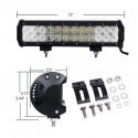 ΑΔΙΑΒΡΟΧΟ LED LIGHT BAR 72W combo