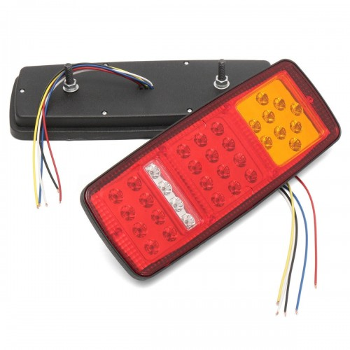 33 LED Stop Brake Rear Tail Light Indicator Reverse Lamp 12V for trailers trucks boat van caravans