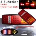 LED стопове мигач задна светлина 24v за камион бус ТИР, ремарке  28 * 10.5 CM
