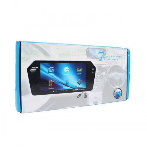 Car 7 inch TFT LCD Car Rear View Mirror Monitor