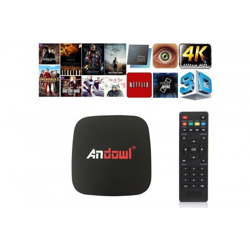 ANDROID TV BOX LITE 4K HD SMARTTV WIFI 2G+16GB