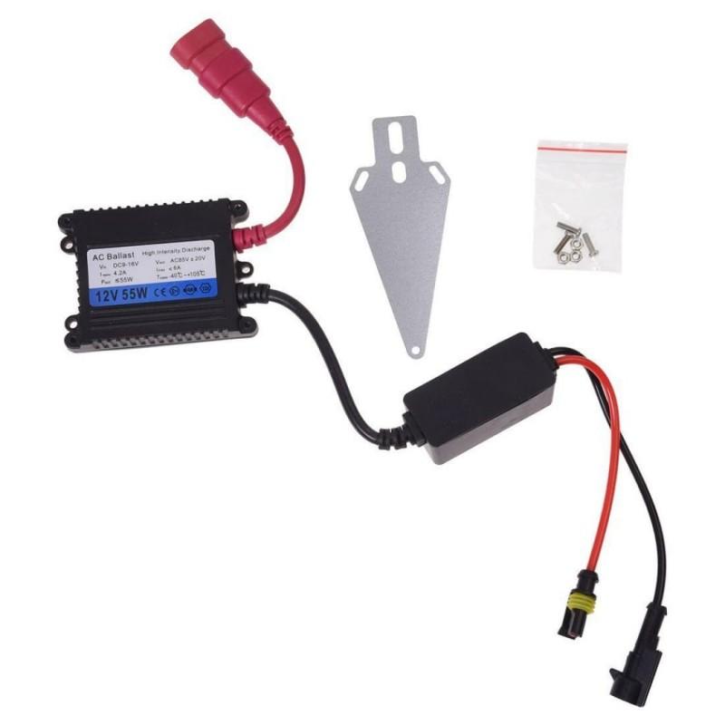 55W Car Xenon HID Replacement Digital Ballast For All Light Bulbs Black