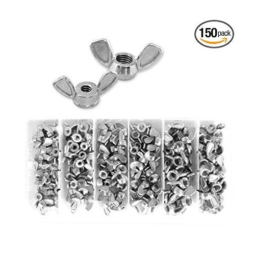 Steel Hand Tighten Nut Butterfly Nut Ingot Wing Nuts