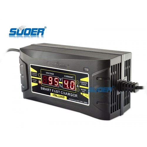 Fast Charger 6A 12V Car Battery Charger (SON-1206D)