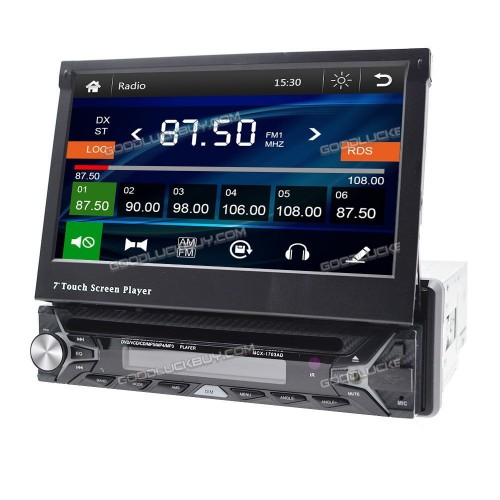 MULTIMEDIA GPS, BLUETOOTH TV/MP4/MP3/USB/SD/AUX/MIC/REAR CAM