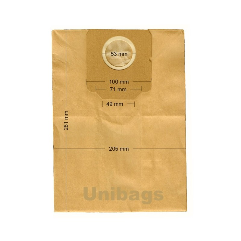 1150 - Unibags  MOULINEX ΑΝΤΑΛΛΑΚΤΙΚΑ ΗΛ. ΣΚΟΥΠΑΣ