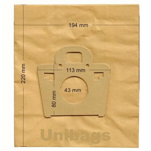 1185 - Unibags  MOULINEX ΣΑΚΟΥΛΕΣ ΓΙΑ ΣΚΟΥΠΕΣ