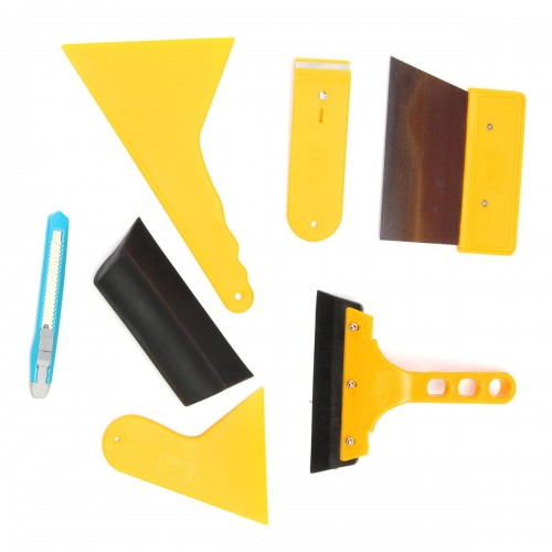 Car Window Tint Tools Kit for Auto, Film Tinting Scraper Application