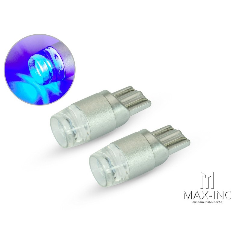 T10 5led BLU LED BULBS