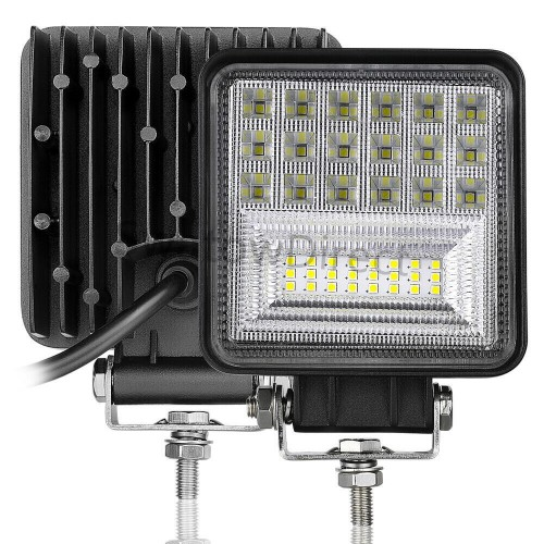Work Lights Flood Combo Fog Driving Trailer 252W Offroad Truck Backup