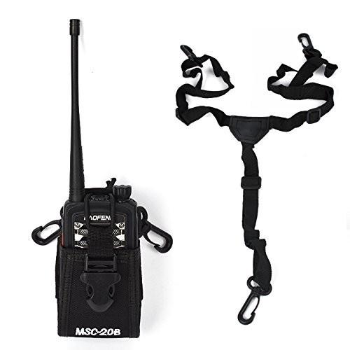 MSC-20B Ham Radio Tranceiver Case Holster For MOTORAL Baofeng UV-5R KENW00D