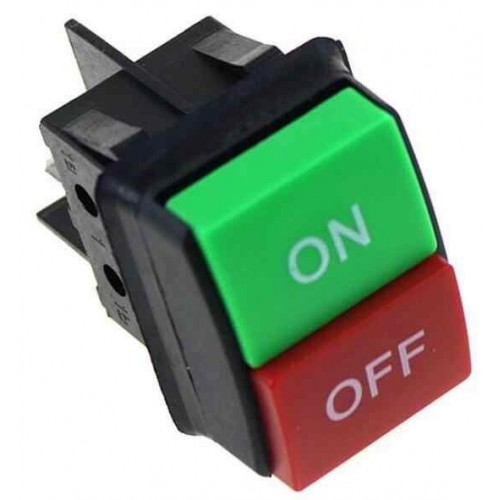 JD03-C1 KCD4 4Pin ON / OFF 14A/16A 125/250V red green reverse switching power switch