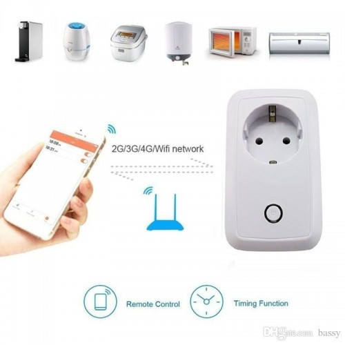 ifi Smart Power Plug EU Version 110-220V 10A Smart Home Automatically