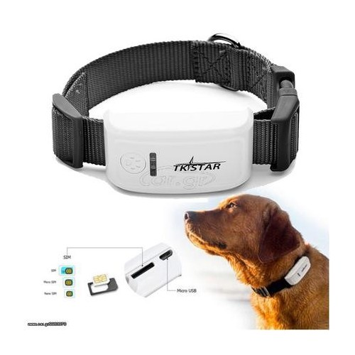 TKSTAR GPS Pet Collar Locator Tracker GPRS Tracking System FREE APP