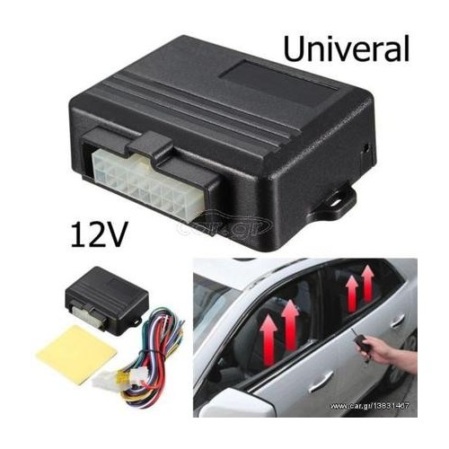 Auto Window Closer for 2 Doors Car Alarm Systems