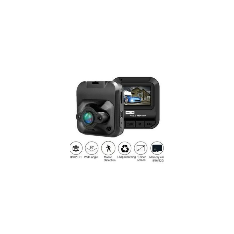 2.2 RedBox HD 1080 BLACKBOX DVR VIDEO CAMERA RECORDER/DASH CAM