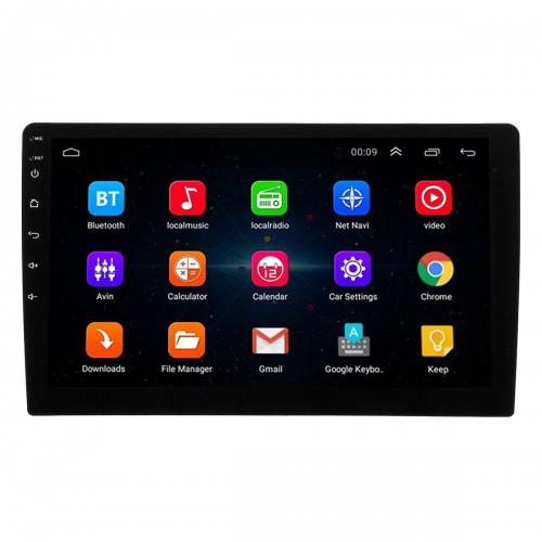 10.1Inch 2Din for Android 8.1 Car MP5 Player 1+16G IPS 2.5D Touch Screen Stereo Radio GPS WIFI FM