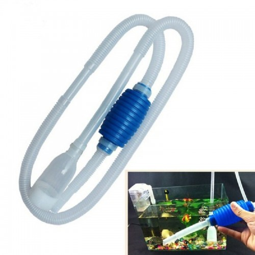 Aquarium Fish Tank Siphon Vacuum Water Pump Gravel Cleaner