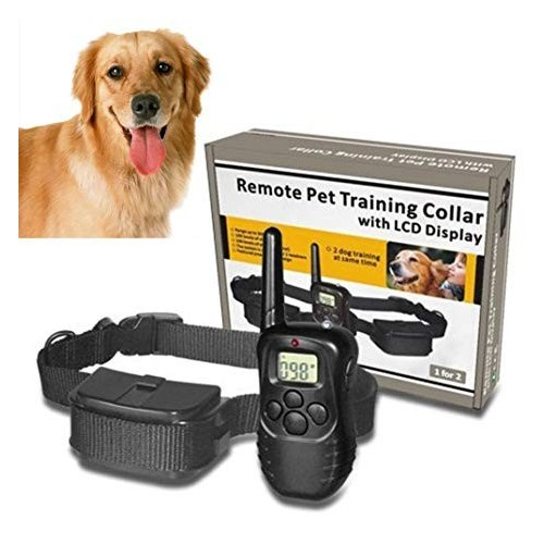 Pet Dog Training Collar, LCD Rainproof Electric Shock Vibration REMOTE PET TRAINING COLLAR LCD