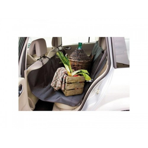 Travel Dog Car Seat Cover-Universal Black Oxford Waterproof Protector for Sedan, Truck and SUV