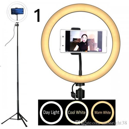 Studio Camera Ring Light Photo Phone Video Light Annular