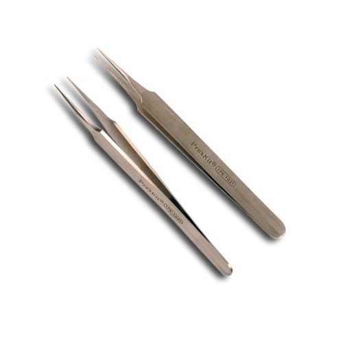 1PK-102T Super Fine Tip Straight Tweezer